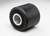 3M 28349 Suave Negro Rueda de expansión - 3 1/2 in diámetro - 3 in Ancho - Mecánico Rosca para Accesorio