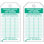 Brady 86446 Verde sobre blanco Poliéster/papel Etiqueta de inspección general - Ancho 3 pulg. - Altura 5 3/4 pulg. - B-837
