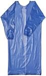 Ansell 56-910 Azul Mediano Vinilo Delantal/mandil resistente a productos químicos - Envuelto individualmente - 076490-50191