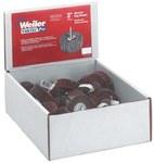 Weiler Óxido de aluminio Juego de ruedas laminada - Grados incluidos Fina, Mediano - diámetro incluido 3 in - 36502