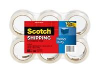 3M Scotch 3850-CS36 Cinta de sellado de cajas Transparente - 1.88 pulg. Ancho x 54.6 yd Longitud - 3.1 mil Grosor - 67774
