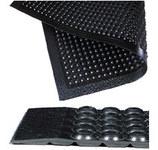 Notrax Comfort-Eze 447 Negro Caucho Tapete antifatiga - Ancho 30 in - Longitud 10 ft - 447 30 X 10