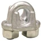 Lift-All Acero galvanizado Clip de cuerda de alambre - Ancho 7/8 pulg. - 83416