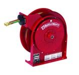 Reelcraft Industries Serie TW5000 25 ft Rojo Acero Carrete de manguera de grado T para soldadura con gas - longitud total 13.75 in - Ancho 6 in - Altura 14.5 in - 00029