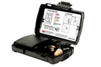 3M Peltor TEP-200 Negro Audífonos para escuchar solamente - NRR 23-30 decibelio - 093045-93824