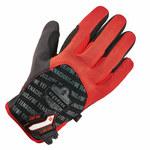 Ergodyne ProFlex 812CR6 Negro/Rojo Grande Malla de poliéster Malla de poliéster Guantes resistentes a cortes - 720476-17924