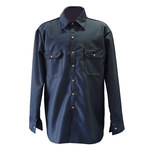 Chicago Protective Apparel Grande 8.5 oz Camisa resistente al fuego - 625-FR9B-N LG