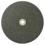 Weiler Óxido de aluminio Rueda esmeriladora de superficie - Tipo 1 - Rueda recta - 60 grano Fina grado - Accesorio Eje - Diámetro 6 pulg. - Agujero Central 1 pulg. - Grosor 3/4 pulg. - 36460