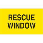 Brady 103633 Negro sobre amarillo Poliéster Etiqueta de acceso y seguridad - Ancho 6 pulg. - Altura 4 pulg. - 19324