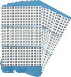 Brady Porta-Pack PWM-16-18 Paño de vinilo Kit de etiquetas de números - Interior/exterior - B-500