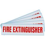 Brady SV089E Fire Extinguisher Label - 47176