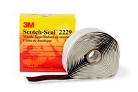3M Scotch-Seal 2229 Cinta aislante Negro - 1 pulg. Ancho x 10 pies Longitud - 125 mil Grosor - 50335