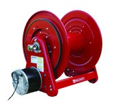 Reelcraft Industries Serie 30000 200 pies Rojo Acero Carrete de manguera - longitud total 23.875 pulg. - Ancho 17.75 pulg. - Altura 20.25 pulg. - 00039