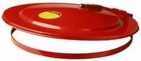 Justrite Rojo Acero Cobertor para tambo - 697841-00979