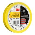 3M GT1 Cinta gaffer Amarillo - 24 mm Ancho x 50 m Longitud - 11 mil Grosor - 98499