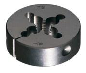 Greenfield Threading 6382 #10-24 UNC Troquel redondo ajustable - Corte de mano derecha - 0.25 pulg. de Grosor - Acero de alta velocidad - 400070