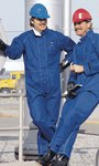 Ansell Sawyer-Tower 66-672 Azul Grande CPC Nomex trilaminado Overoles resistentes al calor - 076490-05448