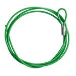 Brady Verde Cable de bloqueo 122262 - Longitud 1.5 m - 754473-71206