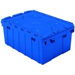 Akro-mils Keepbox 8.5 gal 35 lb Azul Polímero de grado industrial Contenedor de tapa adjunto - longitud 21 1/2 in - Ancho 15 in - Altura 9 in - 39085 BLUE