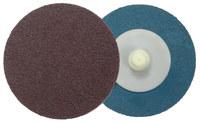 Weiler Recubierto Óxido de aluminio Disco de cambio rápido - 2 pulg. ancho x 2 pulg. longitud - Diámetro 2 pulg.2 pulg. - 60122