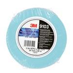3M 9103 Cinta de empalme Azul - 24 mm Ancho x 55 m Longitud - 4.5 mil Grosor - 17521