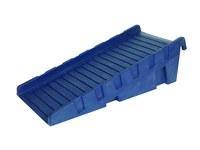 Brady Azul Rampa 107780 - Ancho 32.5 pulg. - Longitud 70 pulg. - 662706-83257