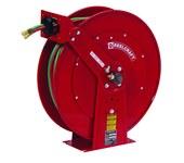 Reelcraft Industries TW80000 50 ft Rojo Acero Carrete de manguera de grado T para soldadura con gas - longitud total 24 in - Ancho 12.25 in - Altura 25.375 pulg - 02449