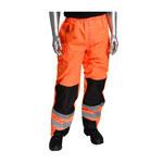 PIP 318-1771 Naranja de alta vis. 5XG Poliuretano en poliéster Pantalones de alta visibilidad - 5 Bolsillos - 616314-60493