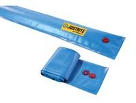 Justrite Azul Desviador del auge - Longitud 5 pies - 697841-15722