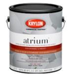 Krylon Commercial Coatings Atrium 45953 Blanco Mate Látex Pintura - 1 gal Cubeta - 04595