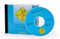 Brady CD-ROM de capacitación sobre prevención de lesiones 110692 - Inglés - 754473-68338