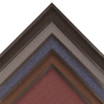 Notrax Ovation 141 Negro Interior Decalon Alfombra de entrada tipo carpeta - Ancho 3 pies - Longitud 2 pies - 141 2 X 3 BLK