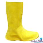 Global Glove Frogwear B260 Amarillo 2XG Botas resistentes a productos químicos - Con elástico - B260 2XL