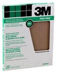 3M Óxido de aluminio Hoja de papel de lija - Accesorio Ninguno - 9 in ancho x 11 in longitud - 88591NA