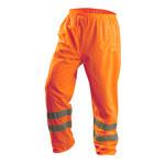 Occunomix Lux-Ten Naranja de alta visibilidad Grande PVC sobre poliéster Pantalones de alta visibilidad - Entrepierna 31 pulg. - 021844-56540