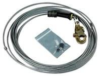 DBI-SALA FAST-Line Plateado Cable - Longitud 50 pies - 840779-01297