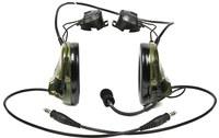 3M Peltor Swattac III MT17H682P3AD-19 Negro Auriculares de radio de dos direcciones - 093045-93480