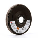3M Scotch-Brite Óxido de aluminio Disco de desbaste - Mediano grado - Accesorio Eje - Diámetro 4 1/2 pulg. - Agujero Central 7/8 pulg. - 29205