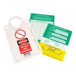 Brady Scafftag SCAF2-STHUSAA Kit de etiqueta de andamio - 14264