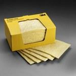 3M P-110 Amarillo 17 gal por caja master Almohadilla absorbente - Ancho 11 in - Longitud 13 in - 051138-17593