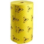 Brady Maxx Amarillo 70 gal 80 gal Almohadilla resistente a productos químicos CH303 - Ancho 30 in - Longitud 300 ft - 662706-90169