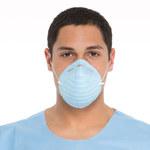 Kimberly-Clark Azul Mediano Cono Máscara quirúrgica - 680651-00152