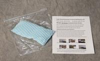 Eagle Blanco/azul Kit de filtro de desagüe de repuesto - 048441-00579