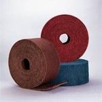 Standard Abrasives Buff and Blend 830103 AP A/O óxido de aluminio AO Rodillo de desbaste - Mediano grado - 4 pulg. ancho x 30 pies longitud - 35862