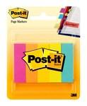 3M Post-it 670-5AN Variado Marcador de página - longitud total 2 in - Ancho 1/2 in - Hojas 500 - 58849